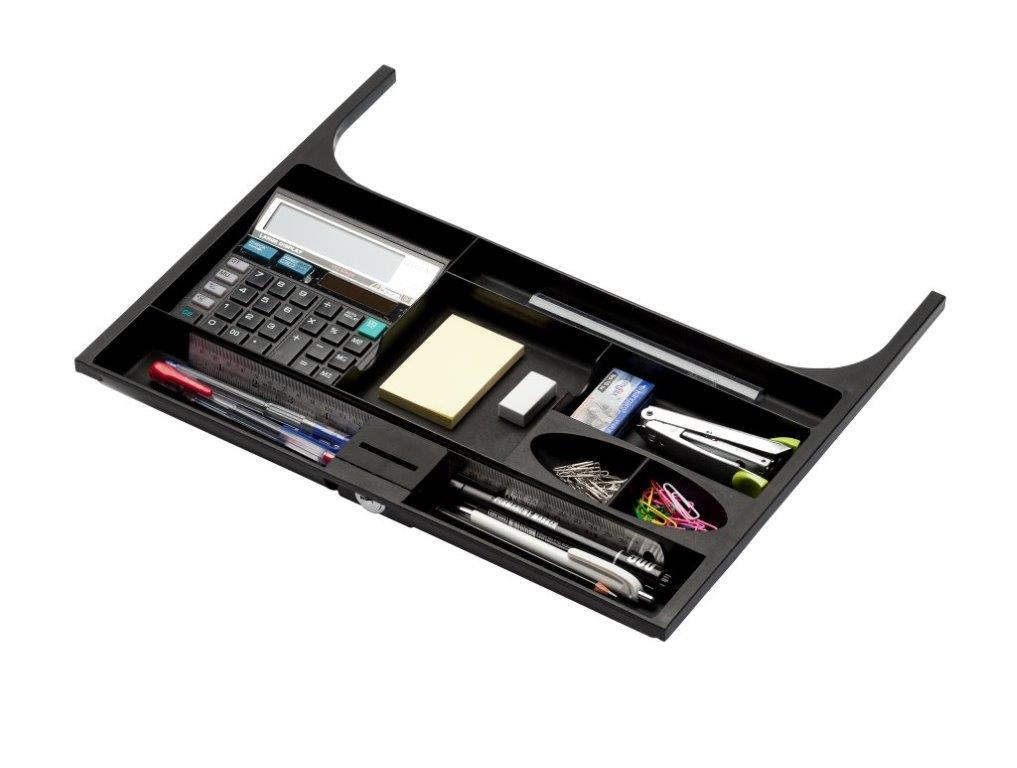 stationery organiser with stationery