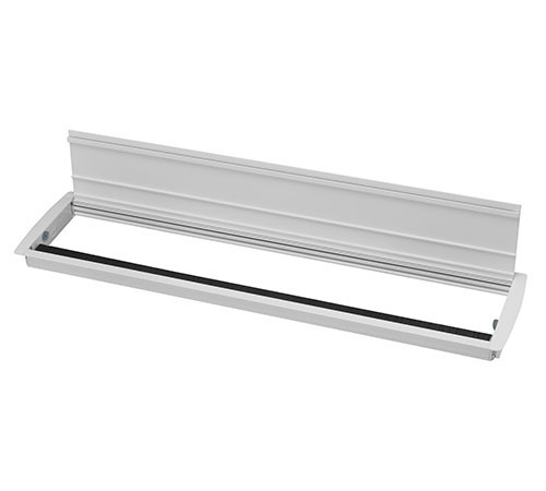 Access-Flap---600-mm-with-Brush-&-Frosty-White---Open
