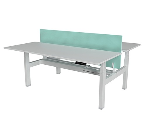 Height Adjustable Table - Back to Back - with top