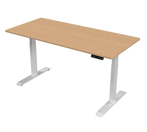 Height Adjustable Table - Double Motor - with top