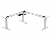 Height Adjustable Table - L Shaped